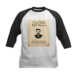 Doc Holliday Wanted Kids Baseball Jersey