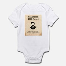 Doc Holliday Wanted Infant Bodysuit