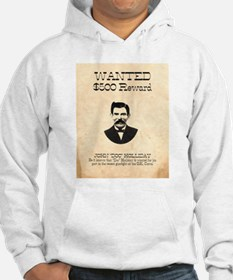 Doc Holliday Wanted Hoodie