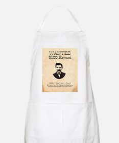 Doc Holliday Wanted BBQ Apron