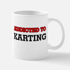 Addicted to Karting Mugs