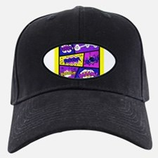 Colorful Comic Book Panels Baseball Hat