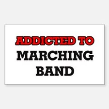 Addicted to Marching Band Decal