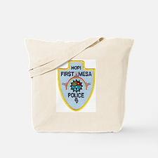 Hopi Tribal Police Tote Bag