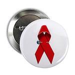 AIDS RIBBON Button