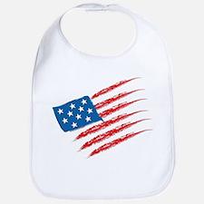 America Flag Bib