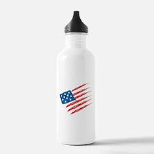 America Flag Water Bottle