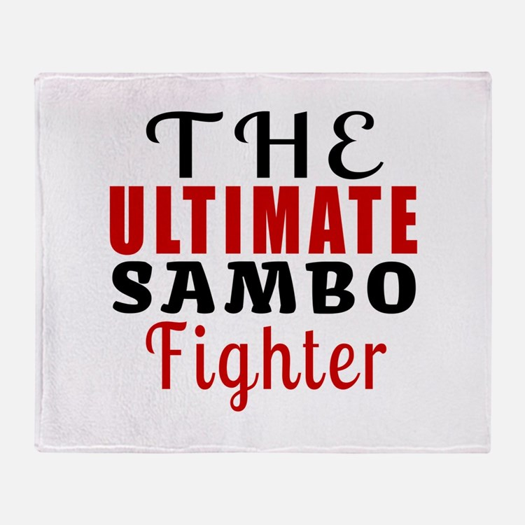 The Ultimate Sambo Martial Arts Figh Throw Blanket