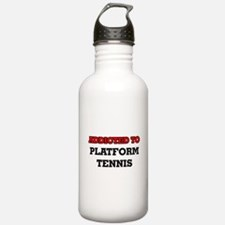 Addicted to Platform T Water Bottle