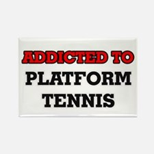 Addicted to Platform Tennis Magnets
