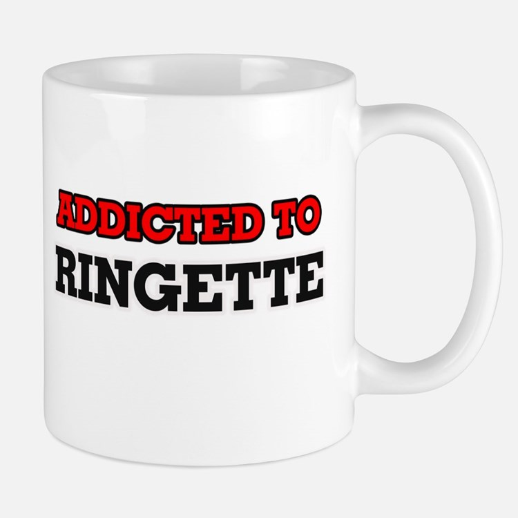 Addicted to Ringette Mugs