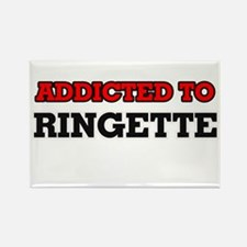Addicted to Ringette Magnets
