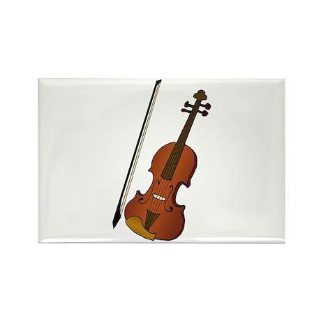 Violin Rectangle Magnet