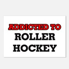 Addicted to Roller Hockey Postcards (Package of 8)