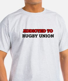 Addicted to Rugby Union T-Shirt