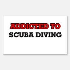 Addicted to Scuba Diving Decal