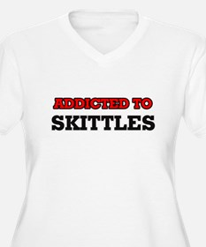Addicted to Skittles Plus Size T-Shirt