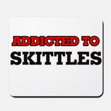 Addicted to Skittles Mousepad