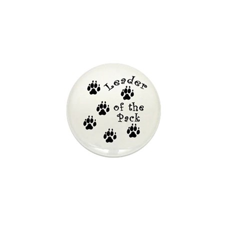 DOGGY Leader of the Pack Mini Button (100 pack)
