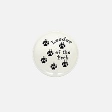 DOGGY Leader of the Pack Mini Button (10 pack)