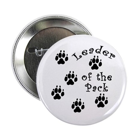 """DOGGY Leader of the Pack 2.25"""" Button (100 pack)"""