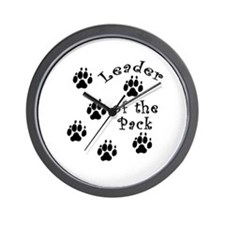 DOGGY Leader of the Pack Wall Clock