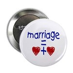 MARRIAGE HEARTS Button