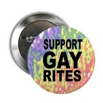 SUPPORT GAY RITES Button