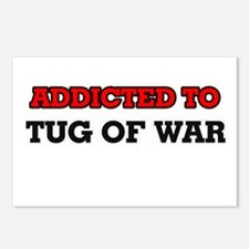 Addicted to Tug Of War Postcards (Package of 8)