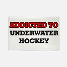 Addicted to Underwater Hockey Magnets