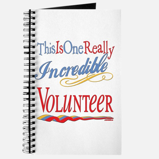 Incredible Volunteer Journal