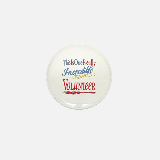 Incredible Volunteer Mini Button (100 pack)