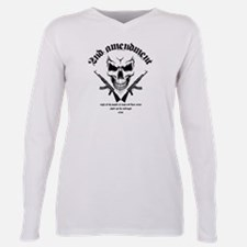 Cute Guns Plus Size Long Sleeve Tee