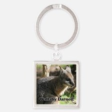 Wallaby Darned Square Keychain