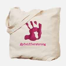 #pfeifferstrong Tote Bag