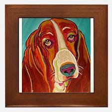 Dogs Framed Tile