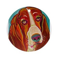 Dogs Ornament (Round)