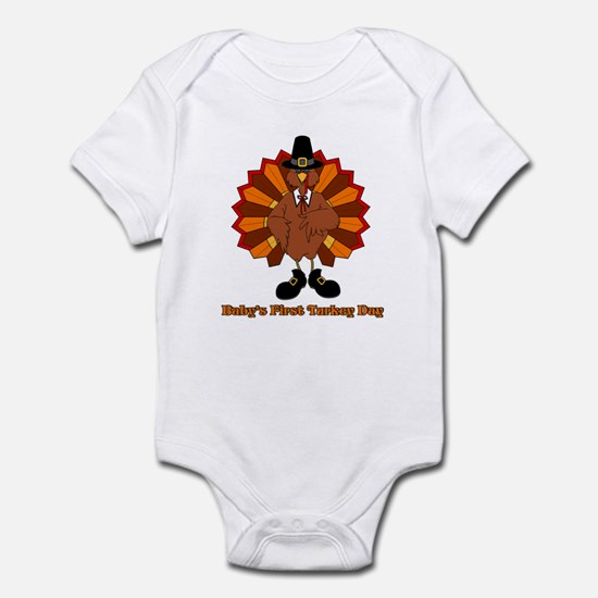Baby's First Turkey Day Infant Bodysuit