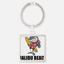 Malibu Beach, California Keychains