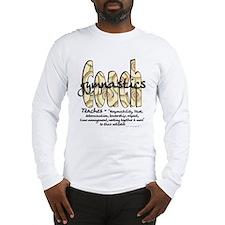 Gymnastics Coach Spiral Patte Long Sleeve T-Shirt