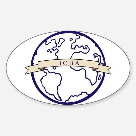 BCBA Global Decal