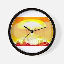 Atomic Bomb Blast Wall Clock