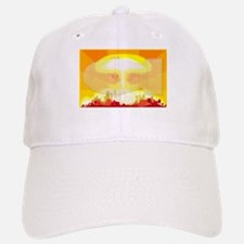Atomic Bomb Blast Baseball Baseball Cap