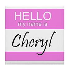 Cheryl Tile Coaster