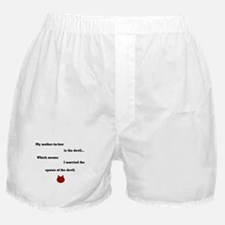 Mother-In-Law Boxer Shorts