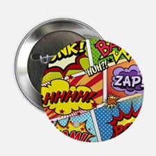 """Colorful Comic 2.25"""" Button (100 pack)"""