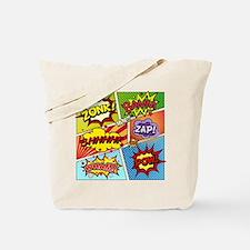 Colorful Comic Tote Bag