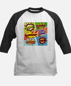 Colorful Comic Baseball Jersey