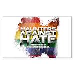 Haunters Against Hate Sticker