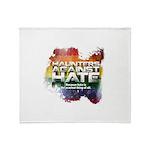 Haunters Against Hate Throw Blanket